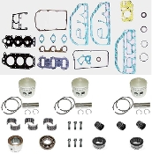 Powerhead Rebuild Kit Johnson & Evinrude 60 thru 75hp 3 Cylinder Engines 1975 thru 1985 PHK-104-20 Professional Series