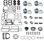Powerhead Rebuild Kit Johnson & Evinrude 90 thru 115hp Turbo Jet  Engines 1994-1997 PHK-110-50 Professional Series