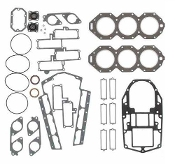 Complete Overhaul Gasket Kit for Johnson & Evinrude 200-225hp Loop Charged V6 1988-1992 500-145 Replaces; 436891