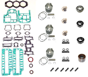 Powerhead Rebuild Kit Force 3 Cylinder 70hp Engines 1999 with 3 Carburetors PHK-210-21 Professional Series