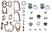 Powerhead Rebuild Kit Chrysler Force 2 Cylinder 40-50hp 1988 B,C & D Models PHK-2900-60 Professional Series