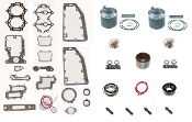 Powerhead Rebuild Kit Chrysler Force 2 Cylinder 40-50hp 1981-1987 & 1988 A Models PHK-2900-70 Professional Series