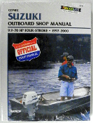 Service Manual Suzuki 9.9-70hp Four-Stroke 1997-2000 By Clymer B782