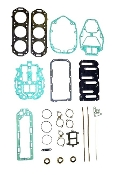 New Complete Overhaul Gasket Kit Mercury V6 135-175hp DFI Models with Horizontal Reeds and Steel Head Gaskets 1998-2000 500-218 Replaces; 27-814754A98