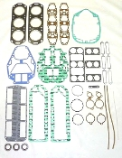 New Complete Overhaul Gasket Kit Mercury V6 2.0L 135 & 150hp with Vertical Reeds & two piece Heads 500-212 Replaces; 90484A88, 27-90484A88