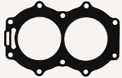 Cylinder Head Gasket Kit for Johnson & Evinrude 25-35hp 1976-1978 18-2954 Replaces; 319633, 0319633