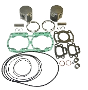 Top End Rebuild Kit Sea Doo 580cc 1990-1996 White Painted Engines 010-815-10P Replaces;290996305, 420886270, 13033-1010
