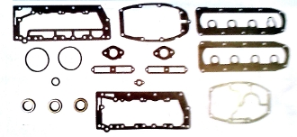 New Complete Overhaul Gasket Kit Mercury 40-50hp 4 Cylinder 1980-1986 500-200 Replaces;27-72486A32