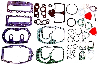 New Complete Overhaul Gasket Kit Mercury 35-40hp 2 Cylinder 500-201 Replaces; 27-78028A78