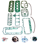 New Complete Overhaul Gasket Kit Mercury 75-85hp L4 Cylinder Replaces; 27-73645A87