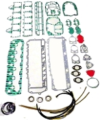 New Complete Overhaul Gasket Kit Mercury 90-150hp In Line 6 Cylinder 500-215 Replaces; 27-85653A79, 27-60476A 74, 27-60476A 75, 27-85653A 79, 27-85653A 32, 27-60476A 73, 27-85653A 87
