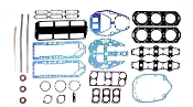 New Complete Overhaul Gasket Kit Mercury V6 150-175HP 2.0L with Vertical Reeds & 2 Piece Cylinder Heads 1978-1982 500-224 Replaces; 27-79583A81