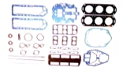 New Complete Overhaul Gasket Kit Mercury V6 135-175hp with Vertical Reeds and 1 Piece Heads 1982 & Up 500-214 Replaces; 27-90484A88