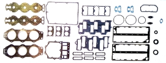 New WSM Complete Overhaul Gasket Kit for Yamaha 150-225hp 90 Degree V6 Carbureted with Horizontal Reeds 1984-2009 500-347 Replaces; 6K7-W0001-04-00, 6K7-W0001-A4-00