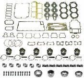 Powerhead Rebuild Kit Johnson & Evinrude Crossflow V6 Engines 175hp 1987-1996 PHK-140-20 Professional Series