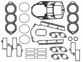 Complete Overhaul Gasket Kit for Johnson & Evinrude 200-250hp 3.3 Liter 90 Degree E-Tec 2005 & Up 500-146-03 Replaces; 5006342