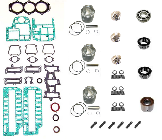 Powerhead Rebuild Kit Force 3 Cylinder 90hp Engines 1995 thru 1999 PHK-210-20 Professional Series