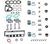 Powerhead Rebuild Kit Force L-Drive 4 Cylinder 120LD & 125LD Engines 1989-1990 PHK-2900-50 Professional Series