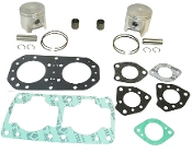 TSM Performance Top End Rebuild Kit Kawasaki 650 all Models 1991-1996 Professional Series 010-812-10