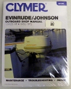 Service Manual Johnson & Evinrude 1.5-125hp 1956-1972 By Clymer TS B734