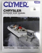 Service Manual Chrysler 3.5-140hp 1966-1984 By Clymer TS B750