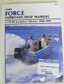 Service Manual Force 4-150hp 1984-1999 By Clymer TS B751-4