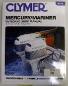 Service Manual Mercury 3.9-135hp 1964-1971 By Clymer TS B719