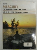 Service Manual Mercury 3.5-40hp 1972-1989 By Clymer TS B721
