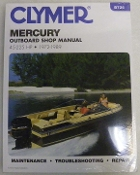 Service Manual Mercury 45-225hp 1972-1989 By Clymer TS B726