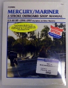 Service Manual Mercury & Mariner 2.5-60hp Two-Stroke 1994-1997 By Clymer TS B723