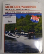 Service Manual Mercury & Mariner 75-275hp Two-Stroke 1994-1997 By Clymer TS B724