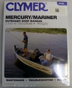 Service Manual Mercury & Mariner 2.5-60hp Two-Stroke 1998-2002 By Clymer TS B725