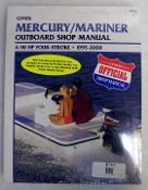 Service Manual Mercury & Mariner 4-90hp Four-Stroke 1995-2000 By Clymer TS B710