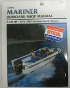 Service Manual Mariner 2-220hp 1976-1989 By Clymer TS B714
