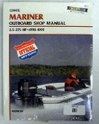 Service Manual Mariner 2.5-275hp 1990-1993 By Clymer TS B715