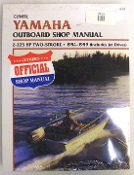 Service Manual Yamaha 2-225hp Two-Stroke 1984-1989 By Clymer TS B783
