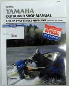 Service Manual Yamaha 2-90hp Two-Stroke 1999-2002 By Clymer TS B786