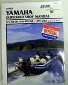 Service Manual Yamaha 115-250hp Two-Stroke 1999-2002 By Clymer TS B789