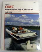 Service Manual OMC Sterndrives 1964-1986 By Clymer TS B730