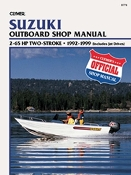 Service Manual Suzuki 2-65hp Two-Stroke 1992-1999 By Clymer B778