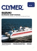 Service Manual Suzuki 75-225hp Two-Stroke 1992-1999 By Clymer B779