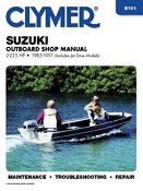 Service Manual Suzuki 2-225hp 1985-1991 By Clymer B781