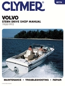 Service Manual Volvo Penta Sterndrives 1968-1993 By Clymer TS B770