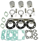 Top End Rebuild Kit Polaris 750 SL, SLT all Models 1993-1995 Professional Series 010-832-10P Replaces; 3240148, 3240146, 3083216