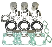 Top End Rebuild Kit Polaris 780 SL,SLT & SLX 1995-1997 Professional Series 010-834-10 Replaces; 3240260, 3240260, 3083216