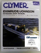 Service Manual Johnson & Evinrude 2-70hp Two-Stroke 1995-2003 By Clymer B735-2