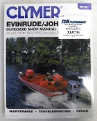 Service Manual Johnson & Evinrude 48-235hp 1973-1990 By Clymer TS B736