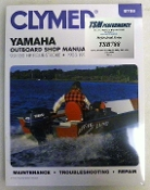 Service Manual Yamaha 9.9-100hp Four-Stroke 1985-1999 By Clymer TS B788
