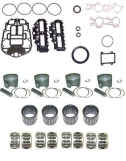 Powerhead Rebuild Kit Johnson & Evinrude Eagle Series 90-115hp 60 Degree Loop Charged Engines 1995 & Up ADK-130-STD Advanced Series