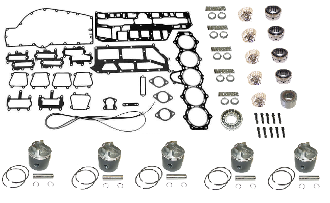 Powerhead Rebuild Kit Force 5 Cylinder 150hp Engines 1990-1994 PHK-205-96 Professional Series